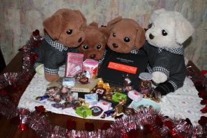 たくさんのチョコありがとうございます