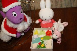 長久堂のクリスマスお干菓子