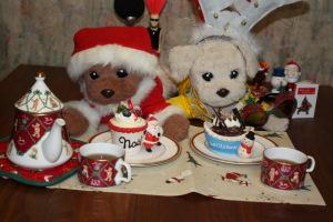 ブールミッシュのクリスマスケーキ